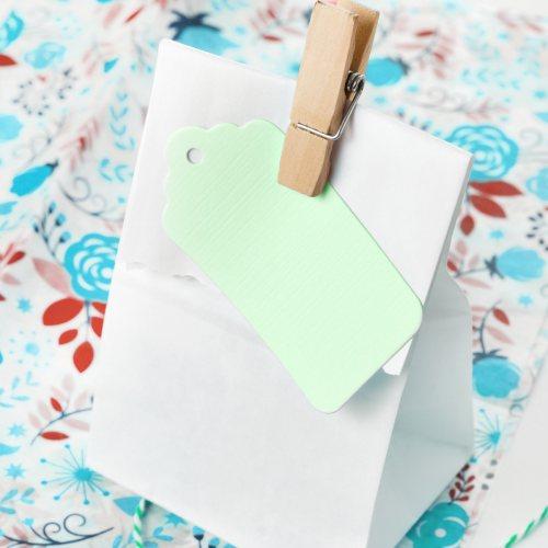 10 st etiketten geschenkanh nger zum beschriften pastell gr n. Black Bedroom Furniture Sets. Home Design Ideas