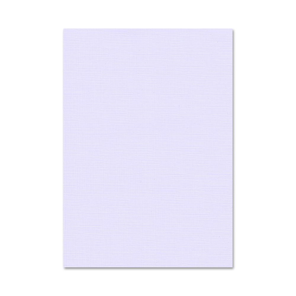 Leinenpapier 250g Leinen Papier A4 A5 Lavendel